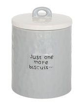 """Just One More Biscuit"" Jar"
