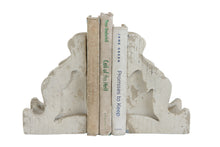 Magnesia Corbel Bookends