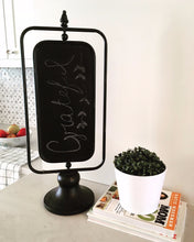 2-Sided Spinning Chalkboard
