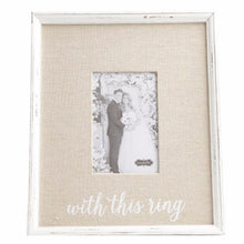 """With This Ring"" Frame"