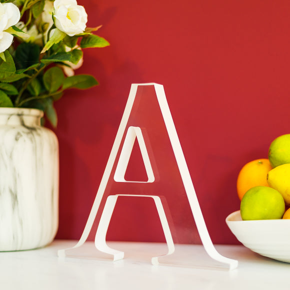 Acrylic Letter A - Lumiletters