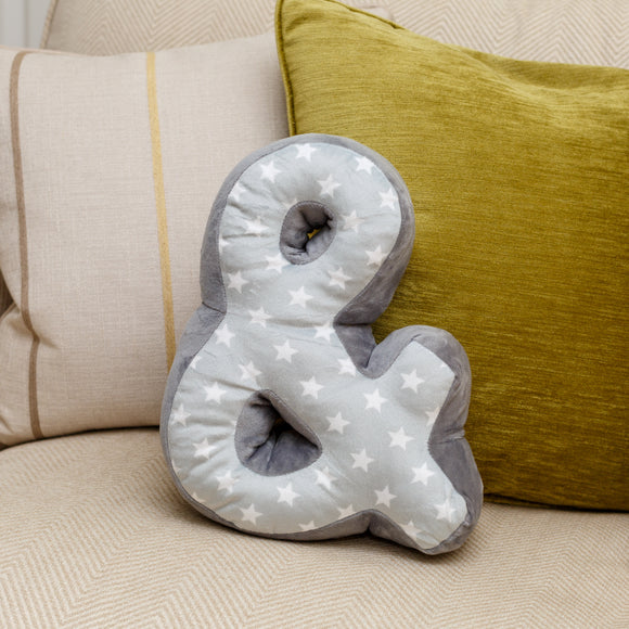 Ampersand Cushion - Lumiletters