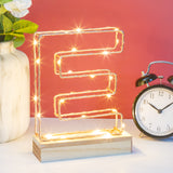 Light Up Letter Wire Frame - Lumiletters