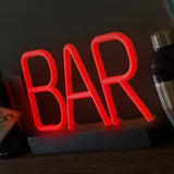 LED Neon Bar Sign - Lumiletters