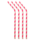 Metal Straws Stripes (Set of 4) - Lumiletters
