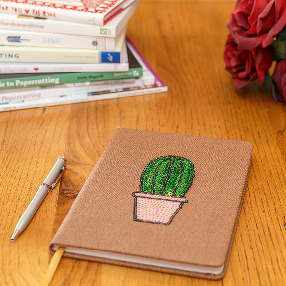 A5 Cactus Notebook - Lumiletters