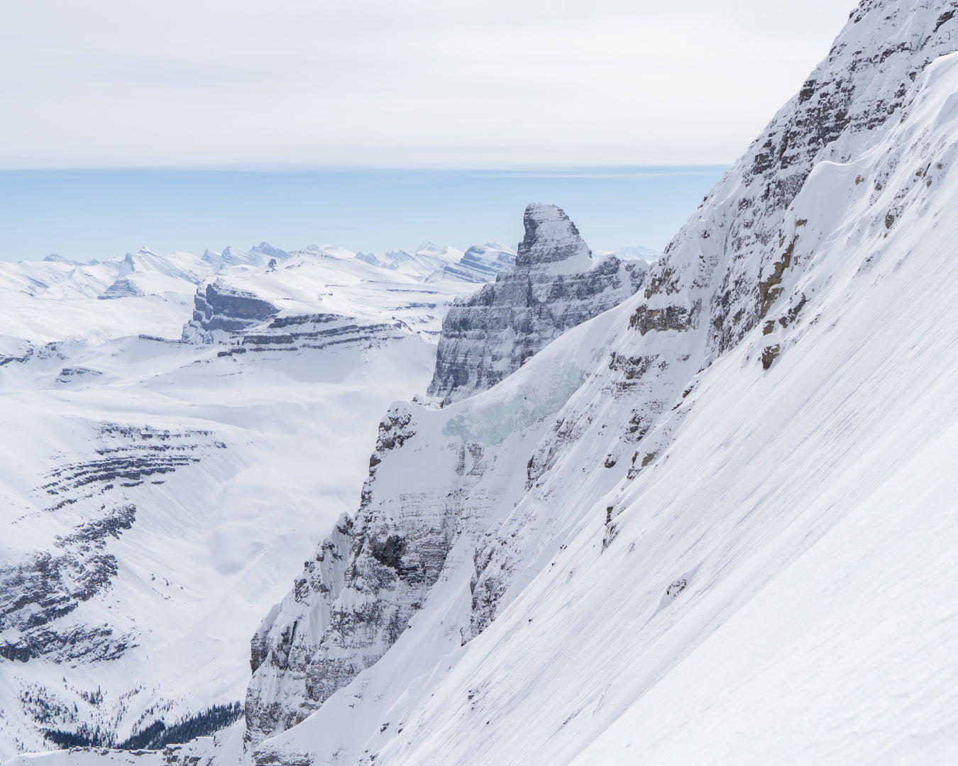 Mount Murchison's Mega Couloir - A Trip Report by Kieran Crimeen