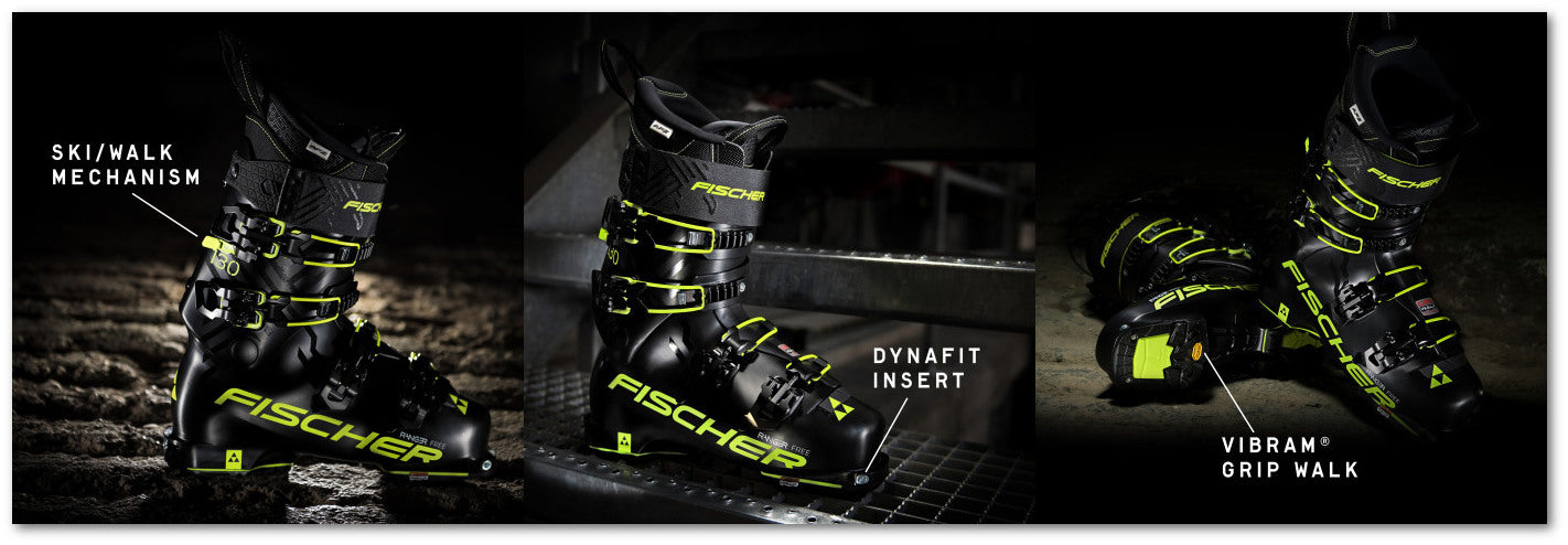 First Look: Fischer Ranger Free 130 Boot