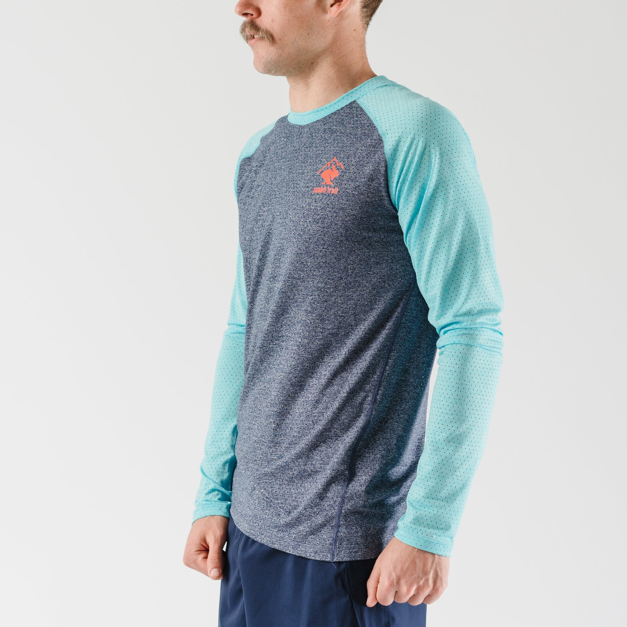 rabbit EZ Tee Perf LS Trail (M)