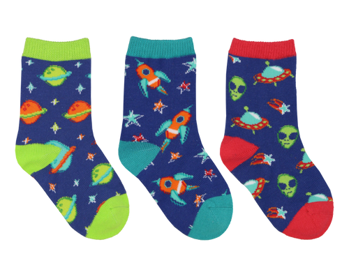 Mini's To The Moon Graphic Socks 3-Pack