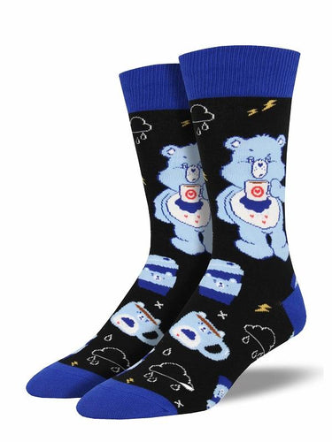 Men's Care Bears More Coffee, Less Grumpy Socks