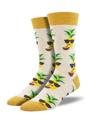 Men's Aloha Pineapple Socks