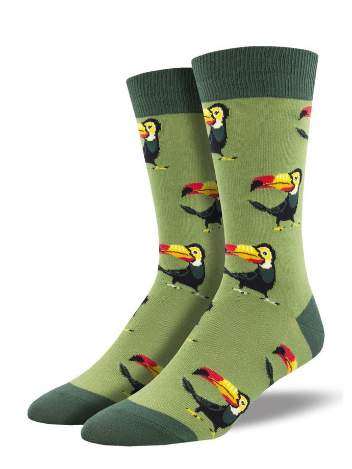 Men's Tropical Toucan Socks