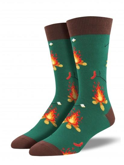 Men's Campfire Graphic Socks