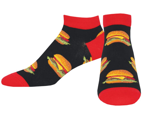 Men's Good Burger Ped Socks