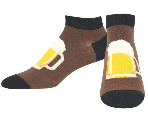 Men's All In Good Stein Ped Socks
