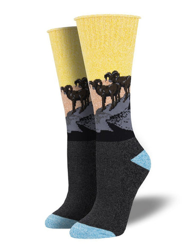 Outlands Recycled Cotton Rambunctious Socks