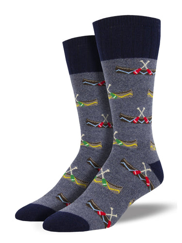 Outlands Recycled Wool Canoes Socks