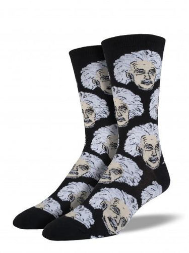 Men's Einstein Graphic Socks