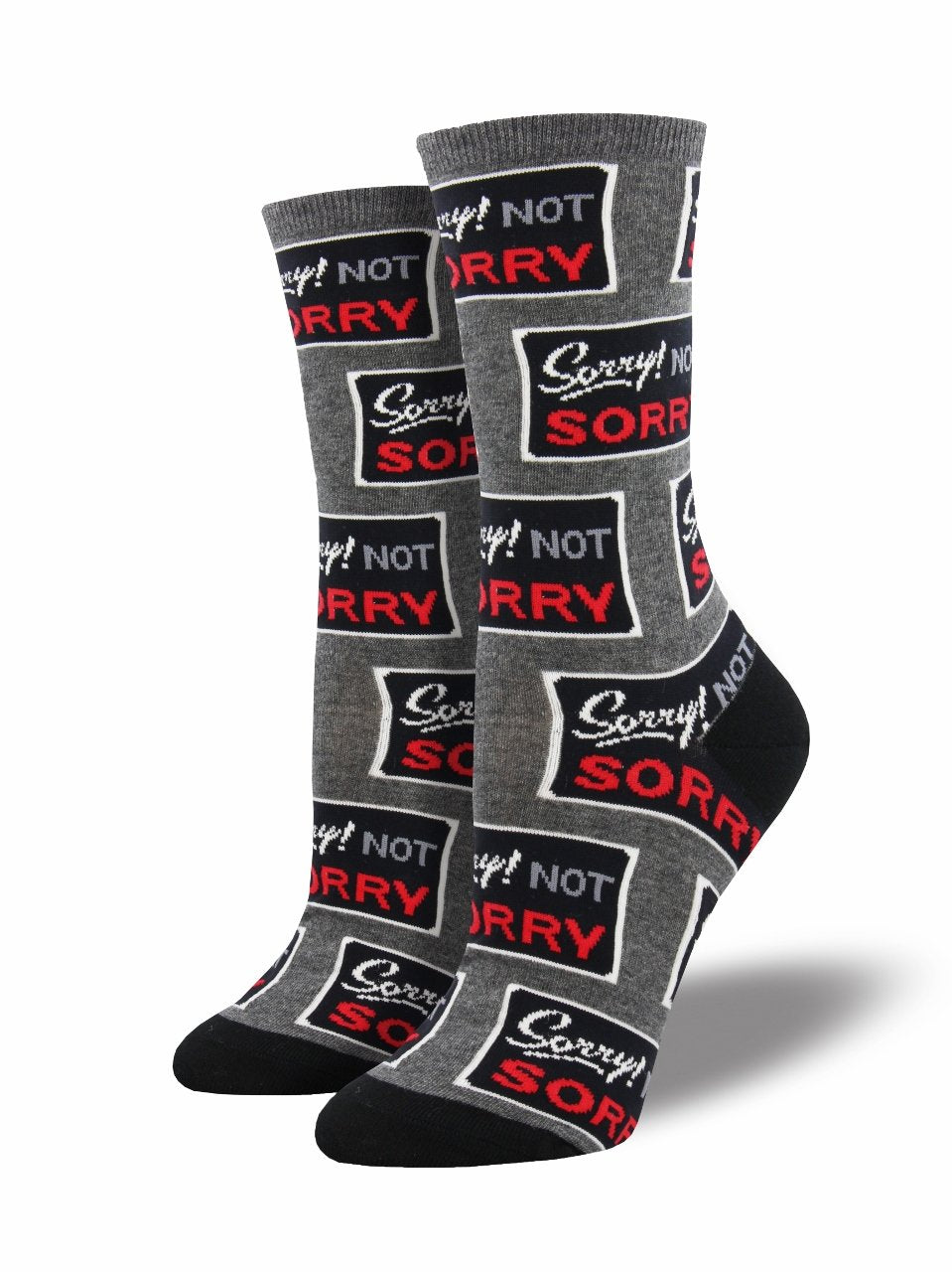 Ladies Sorry Not Sorry Socks