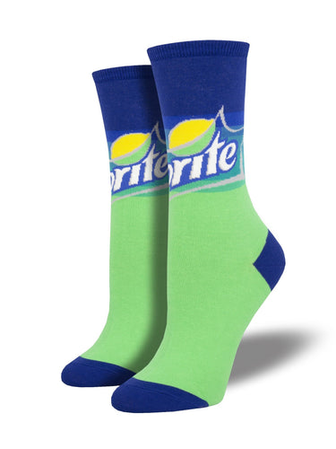 Ladies Sprite Graphic Socks
