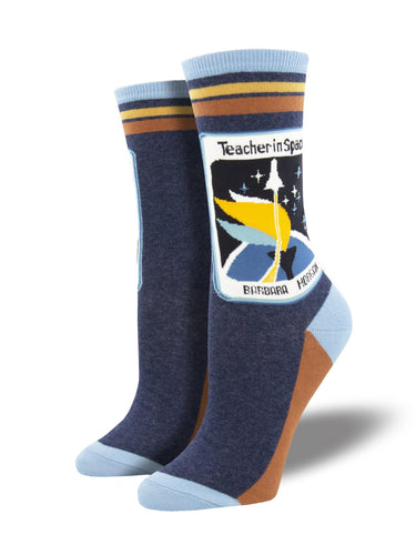 Ladies Teachers In Space Socks