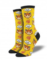 Ladies Moody Cat Socks