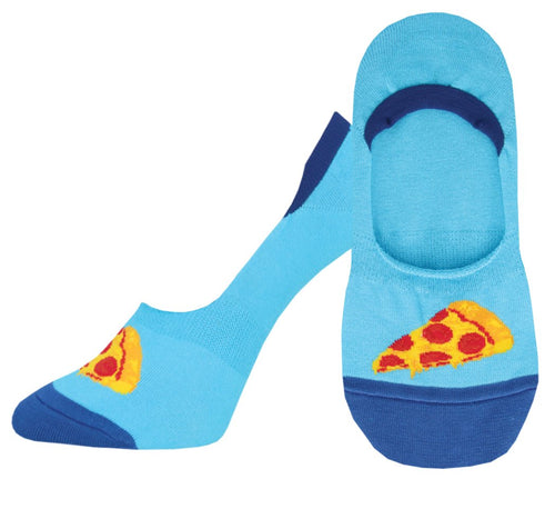 Ladies In Pizza We Crust No Show Liner Socks