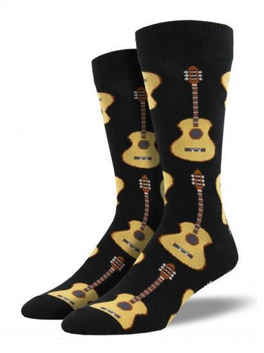 Men's King Size Guitar Socks