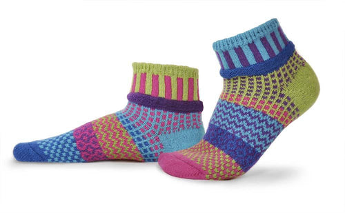 Solmate Bluebell Quarter Socks