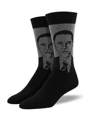 Men's Obama Portrait Socks