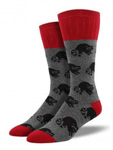 Men's Outlands Raccoon Socks