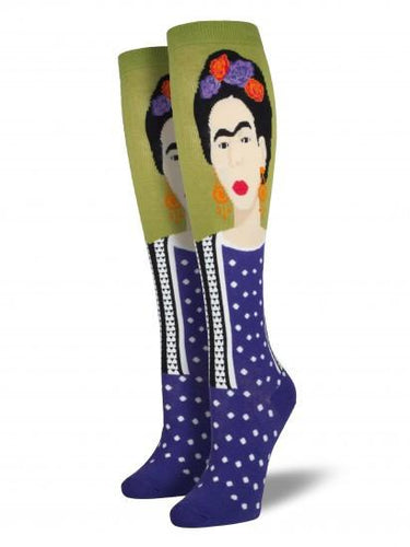 Ladies Frida Knee High Socks