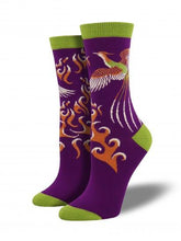 Ladies Bamboo Phoenix Socks