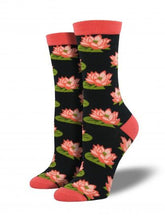 Ladies Bamboo Lotus Socks