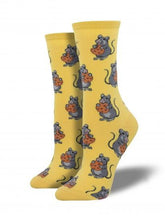 Ladies Mouse Treats Socks