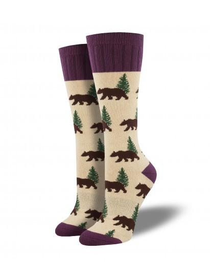 Ladies Outlands Bear Socks