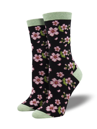 Ladies Bamboo In Bloom Socks