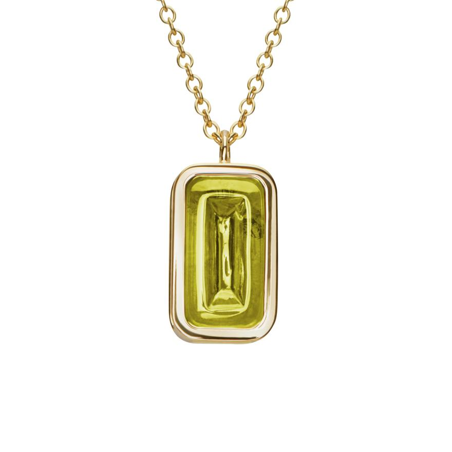 Yellow Gold-Peridot
