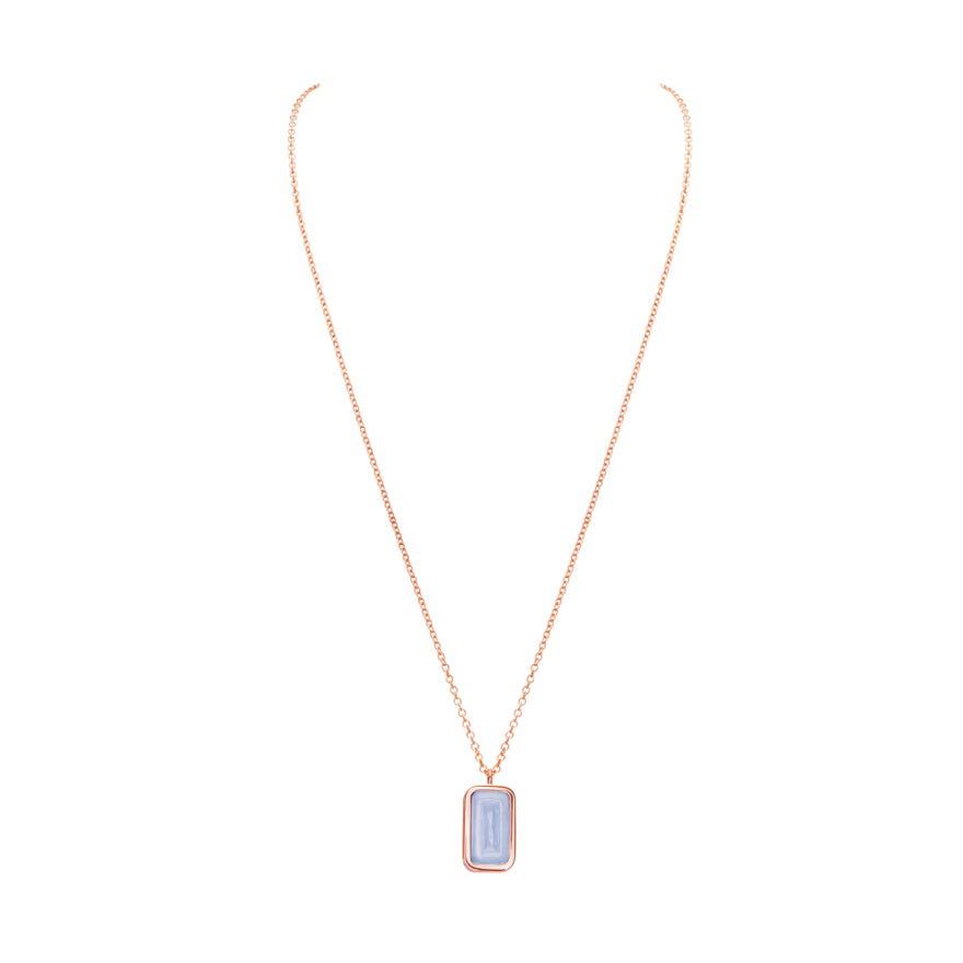 Rose Gold-Lavender Chalcedony