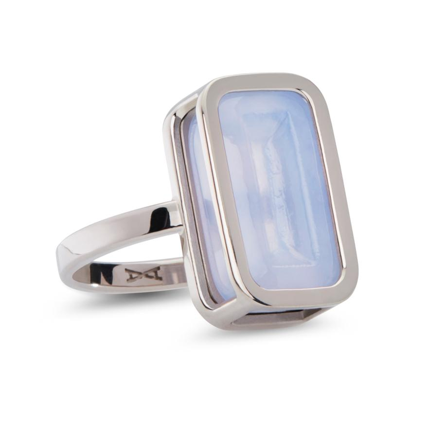 White Gold-Lavender Chalcedony