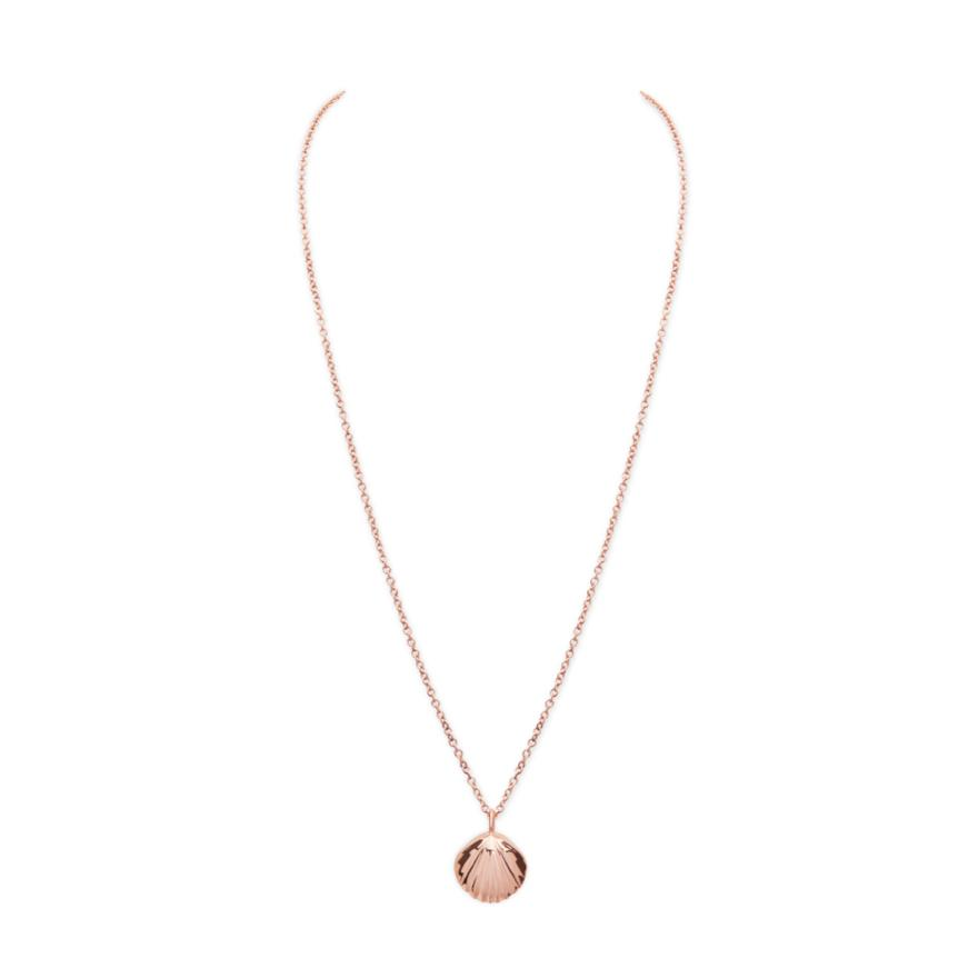 Rose Gold-Pink Enamel