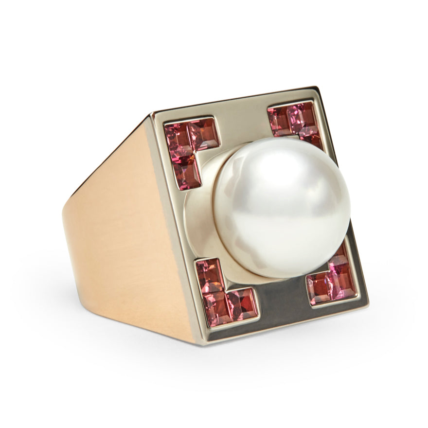 Rose Gold-South Sea pearl