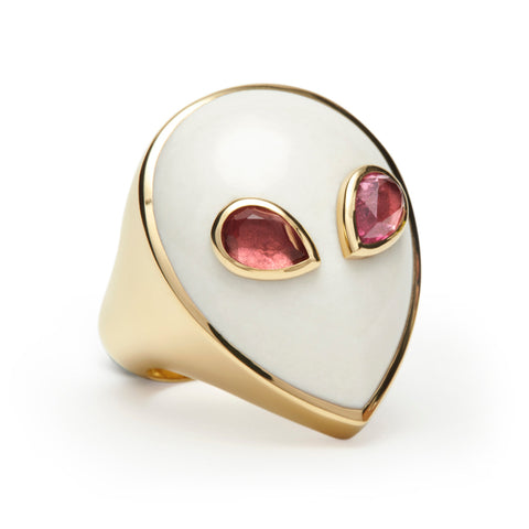 Yellow Gold-Agate