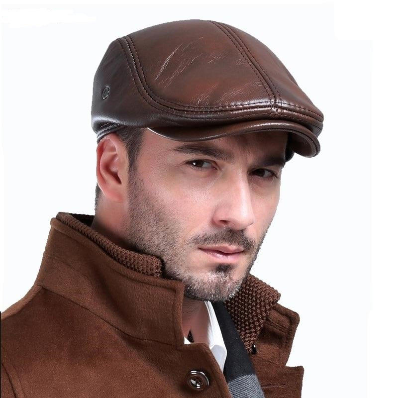 French Retro Plaid Golf Quick-Drying Berets for Men