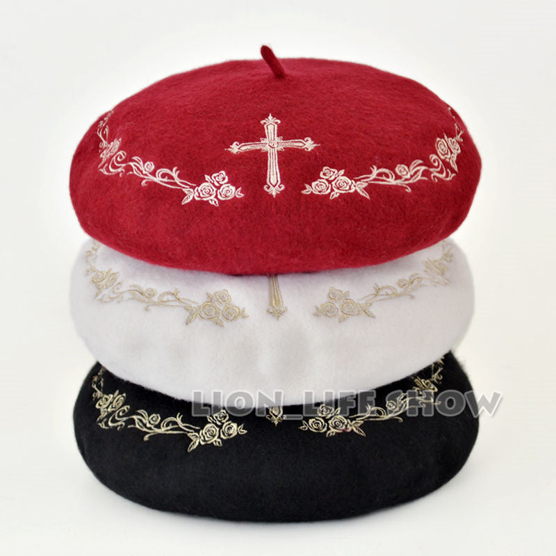 Lolita Polyester-Wool Painter Cap