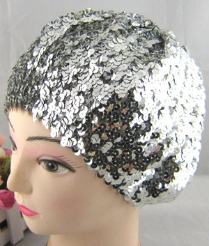 Polyester Sequins Hat