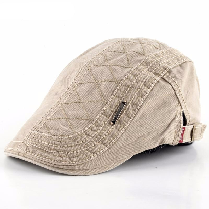 Casual Visors Retro Berets Peaked Gorras Plana for Men