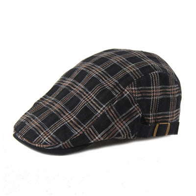 Joymay Cotton Newsboy Cap