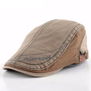 British Retro Casual Visors Peaked Beret Hats